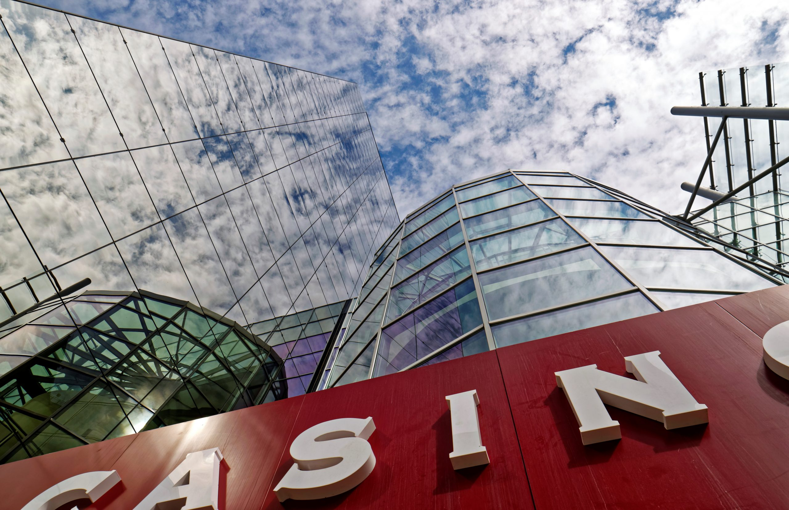 Casino and clouds